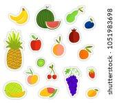 vector illustration of hand... | Shutterstock .eps vector #1051983698