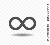 infinity symbol icons.... | Shutterstock .eps vector #1051984445