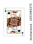 the beautiful card of the jack ... | Shutterstock .eps vector #1051985375