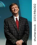 Small photo of MILAN, ITALY-NOVEMBER 18, 2004: Microsoft's founder and CEO Bill Gates attends the Futur Show convention, in Milan.