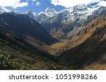Small photo of Himalayan valley in northern Bhutan on the Laya Trek