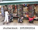 barcelona  spain   june 09 ... | Shutterstock . vector #1052002016