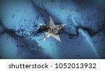 somalia grunge war flag waving... | Shutterstock . vector #1052013932