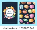 vector card  flyer or brochure... | Shutterstock .eps vector #1052039546
