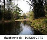 trail 's walkway in the... | Shutterstock . vector #1052092742