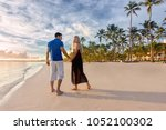couple man and woman   romantic ... | Shutterstock . vector #1052100302