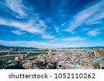 taipei cloud skyline  taiwan   Shutterstock . vector #1052110262