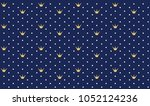 navy dark blue seamless pattern ...   Shutterstock .eps vector #1052124236