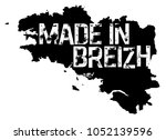 made in brittany  produit en... | Shutterstock .eps vector #1052139596