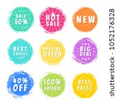 sale 50  best hot choice... | Shutterstock .eps vector #1052176328