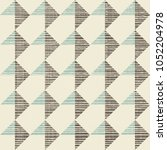 abstract seamless geometric... | Shutterstock .eps vector #1052204978
