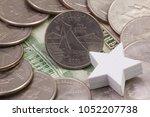 a quarter of rhode island ...   Shutterstock . vector #1052207738