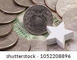 a quarter of georgia  quarters... | Shutterstock . vector #1052208896