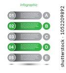 modern design template  can be... | Shutterstock .eps vector #1052209892