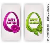 set of elegant templates for... | Shutterstock . vector #1052220392