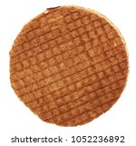 cookies in front of a white... | Shutterstock . vector #1052236892