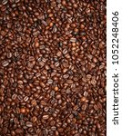 brown coffee beans | Shutterstock . vector #1052248406