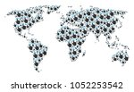 worldwide atlas collage...