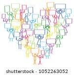 vector illustration of... | Shutterstock .eps vector #1052263052