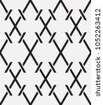 vector seamless pattern.... | Shutterstock .eps vector #1052263412