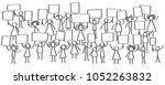 vector illustration of stick... | Shutterstock .eps vector #1052263832