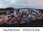 wide angle view from a high... | Shutterstock . vector #1052272226