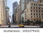 new york  nyc  usa  august 27 ... | Shutterstock . vector #1052279432