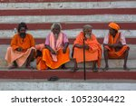varanasi  india   mar 17  2018  ... | Shutterstock . vector #1052304422