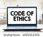 code of ethics | Shutterstock . vector #1052312102