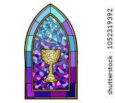 Vectorized Image Of A Stained...