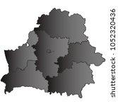 belarus map black gradient grey ...   Shutterstock .eps vector #1052320436