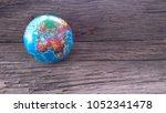 globe of the world   | Shutterstock . vector #1052341478