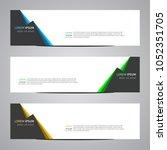modern banner vector for your... | Shutterstock .eps vector #1052351705