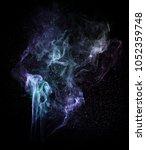 Abstract Smoke Design Art