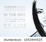 vector illustration with a...   Shutterstock .eps vector #1052444525