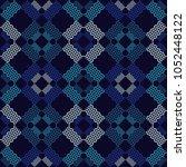 seamless geometric pattern. the ... | Shutterstock .eps vector #1052448122