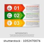 modern vector illustration 3d.... | Shutterstock .eps vector #1052470076