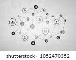 global network as means for... | Shutterstock . vector #1052470352