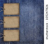 Background Denim Texture With...