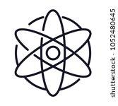 universe cosmos star line icon   Shutterstock .eps vector #1052480645