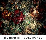 abstract retro grunge... | Shutterstock . vector #1052493416