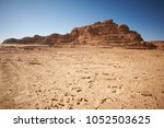 Valley In The Sinai Desert With ...