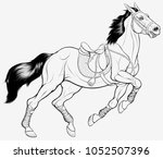 chromatic illustration of a... | Shutterstock .eps vector #1052507396