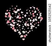 vector confetti background... | Shutterstock .eps vector #1052525162