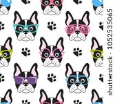 Pattern With French Bulldogs...