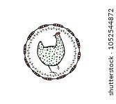 vector illustration of hand... | Shutterstock .eps vector #1052544872