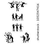 vector illustration of... | Shutterstock .eps vector #1052547416