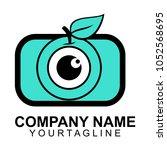 letter logo vector  abstract... | Shutterstock .eps vector #1052568695
