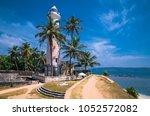 lighthouse in fort galle   sri... | Shutterstock . vector #1052572082