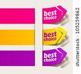eps10  realistic design elements   Shutterstock .eps vector #105259862
